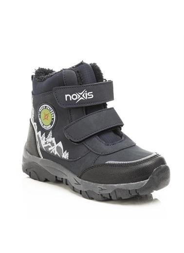 Noxis Noxis Mountain Erkek Çocuk İçi Kürklü Kışlık Trekking Bot Lacivert